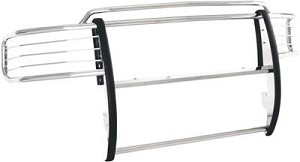 Trail FX Grille Guard; Polished 2009-2013 Ford F-150
