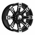 Pro Com Wheels DEEGAN FLAT/BLACK MACHINED